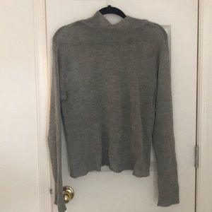 Gap grey hooded sweater size medium